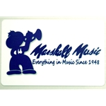 Marshall Music $10 Gift Card