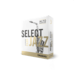 Select Jazz Alto Sax Reeds 3M Filed