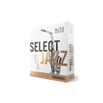 Select Jazz Alto Sax Reeds 4M Unfiled