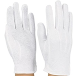 DSI Sure-Grip Gloves White Medium