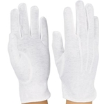 DSI Regular Gloves White Large