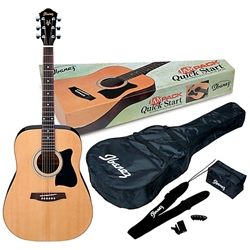 Ibanez IJ Series Acoustic Pack Dreadnought