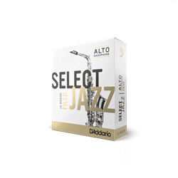 Select Jazz Alto Sax Reeds 4M Filed