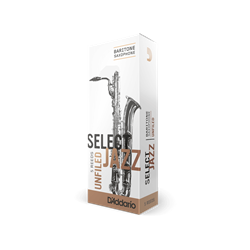 Select Jazz Bari Sax Reeds 3S Unfiled