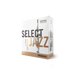 Select Jazz Soprano Sax Reeds 2H Unfiled