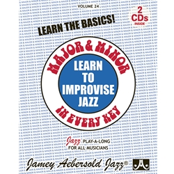 Jazz Play-A-Longs Vol 24 w/CD: Major and Minor