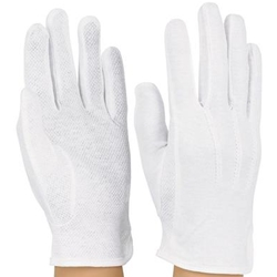 DSI Sure-Grip Gloves White Large